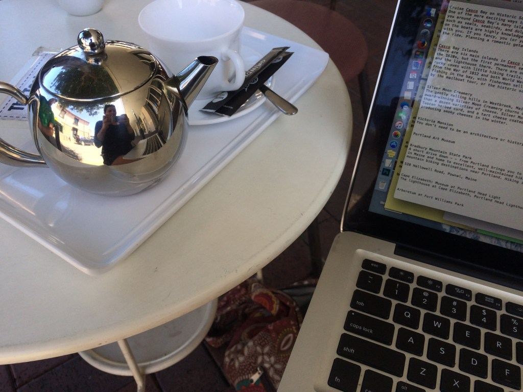teahouse: teapot and computer