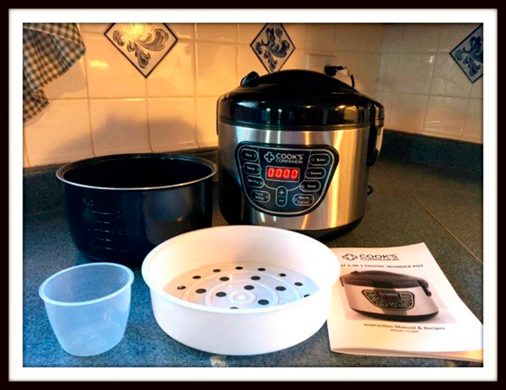 Cook's Companion Wonder Pot Giveaway
