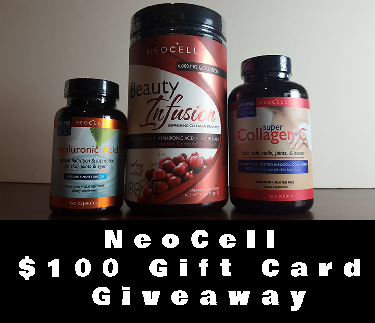 $100 Neocell Gift Card Giveaway