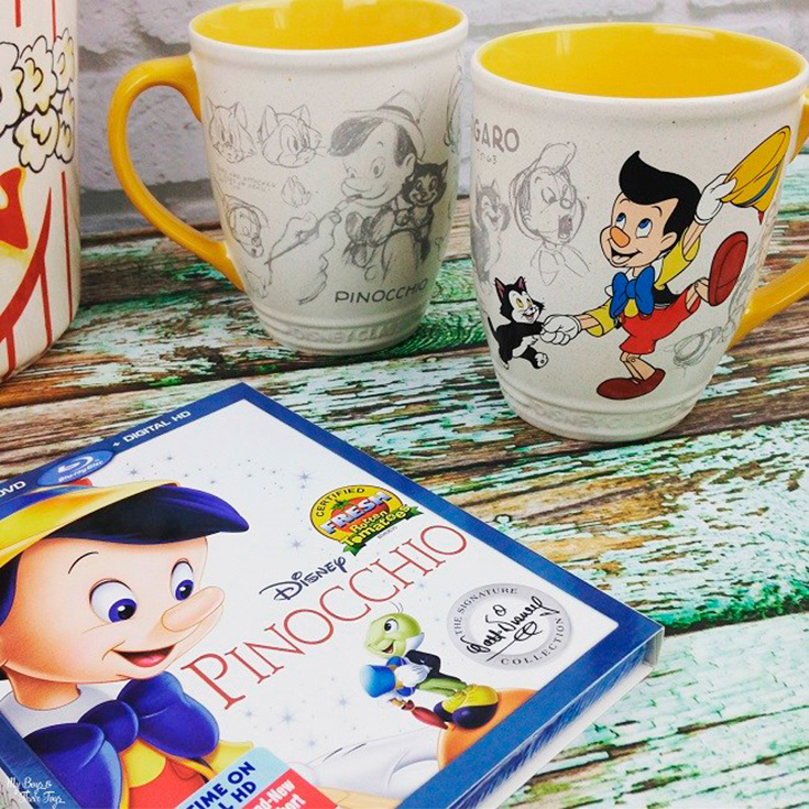 Pinocchio Blu-ray Combo Pack Giveaway