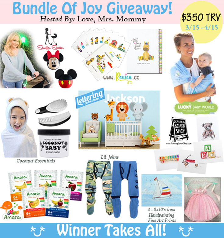 Bundle Of Joy $350 Baby Gift Pack Giveaway