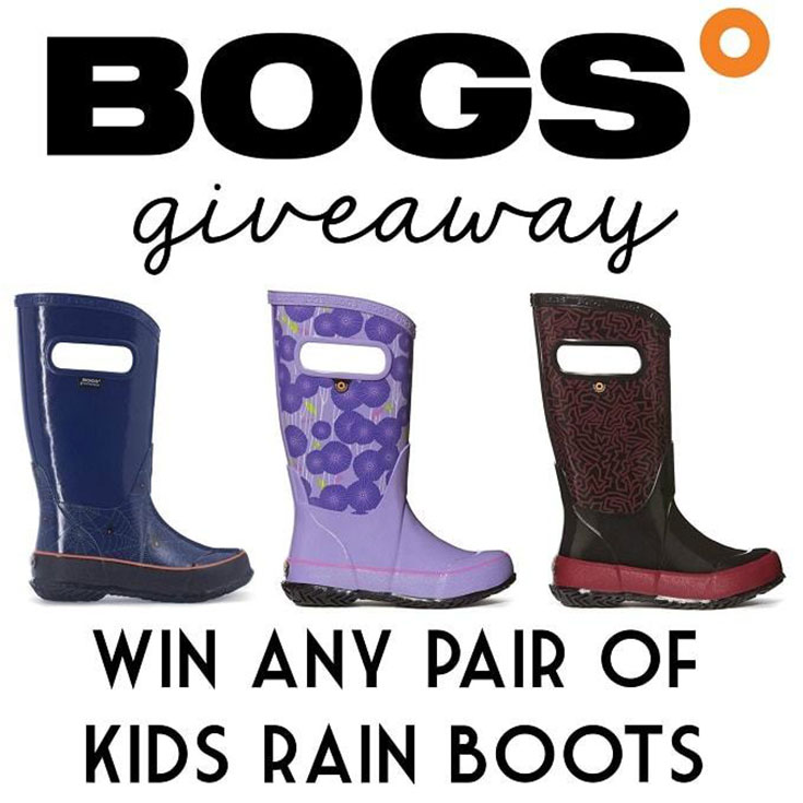 Bogs Kids Rain Boots Giveaway