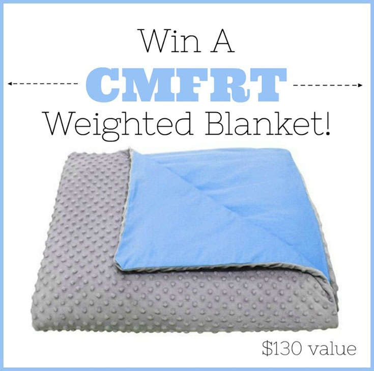 CMFRT Weighted Blanket Giveaway