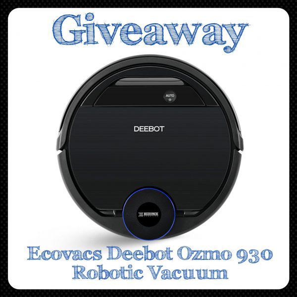 Ecovacs Deebot Ozmo 930 Robotic Vacuum Giveaway