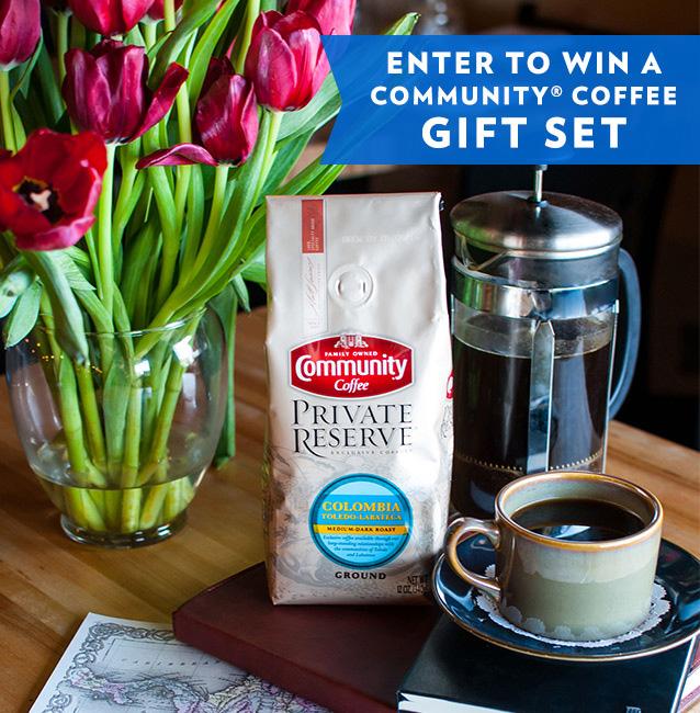 Community Coffee Gift Set Giveaway