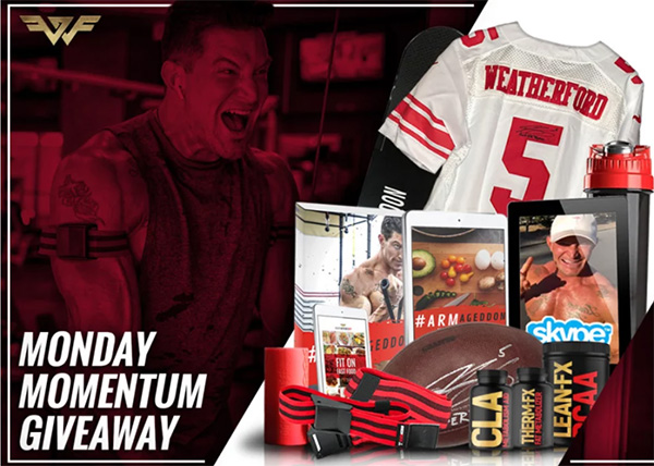 Weatherford Fit Monday MOMENTUM Giveaway