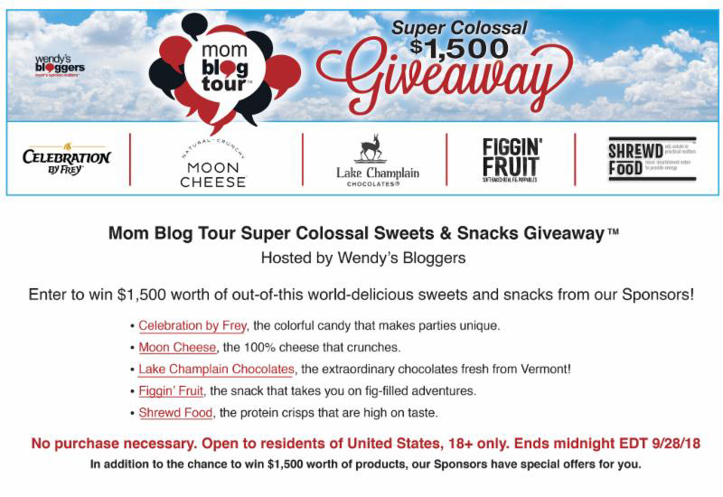 Super Colossal Sweets & Snacks Giveaway