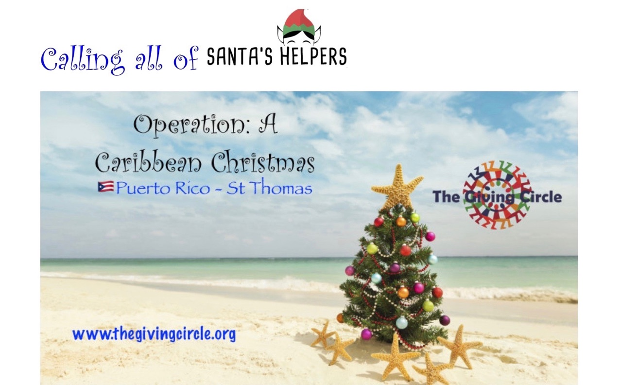 Operation: Caribbean Christmas – The Giving Circle, Inc