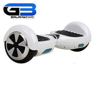 GalaxyBoardSelf-Balancing-Hoverboard-2-Wheel-Scooter2-Year-Manufacturers-Warranty-Samsung-Lithium-Ion-Battery-Ships-From-The-USA-White-0