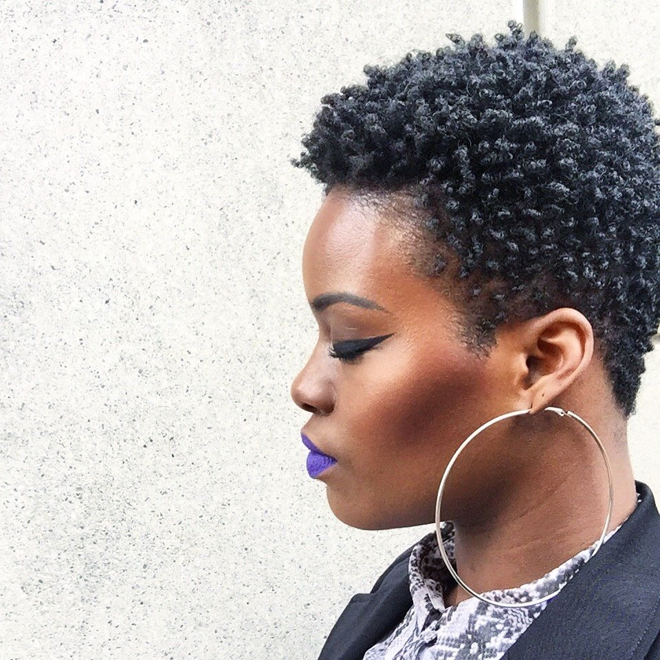 15 Tapered Cut Hairstyles For 4c Natural Hair