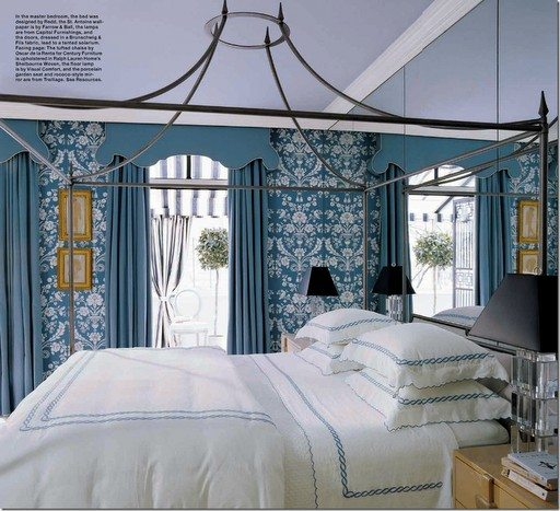 Beautiful Blue Bedrooms: Beautiful Blue And White Bedrooms