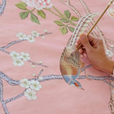De Gournay, In The Pink!