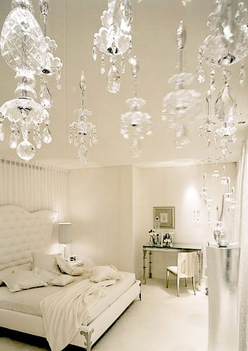 . Glamorous White Bedrooms   The Glam Pad