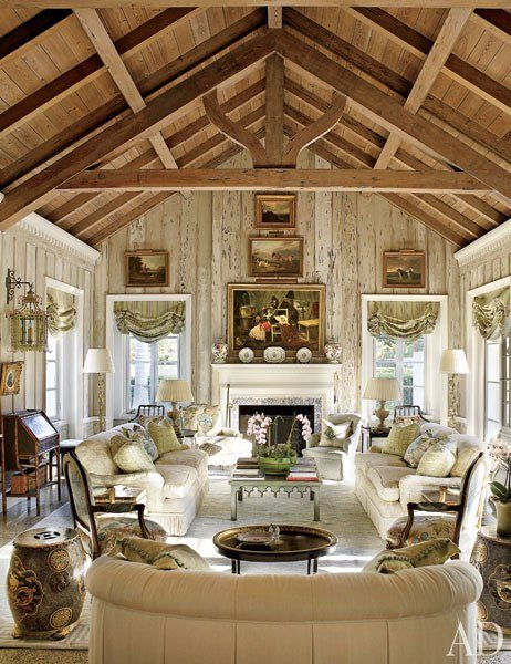 Florida Living Room Design Ideas: An Elegant Beach House In Boca Grande, Florida