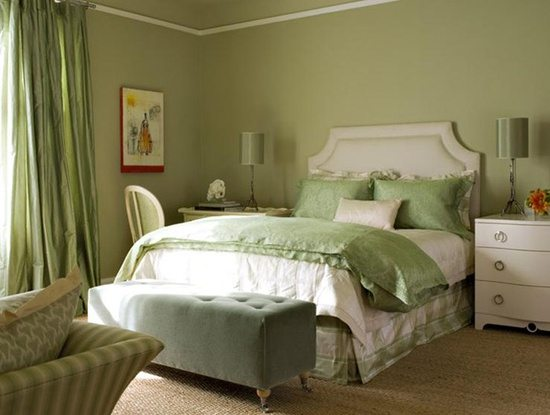 50 Gorgeous Green And White Bedrooms The Glam Pad