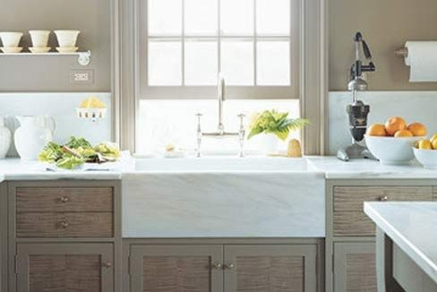 Martha Stewart Kitchen Danby Marble 1 The Glam Pad