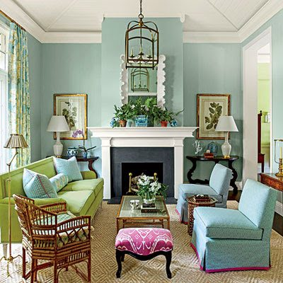 We Wanted The Home To Feel Bright And Colorful Like Florida But Not Like A Vacation Home Said Ashley