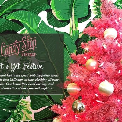 A Candy Shop Vintage Christmas