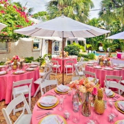 An Elegant Palm Beach Baby Shower, By Luxe Report Designs