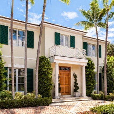 A Palm Beach Home Decorated By Kemble Interiors is on the Market