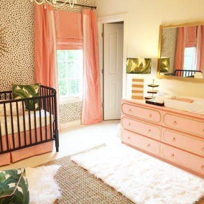 A Palm Beach Inspired Nursery