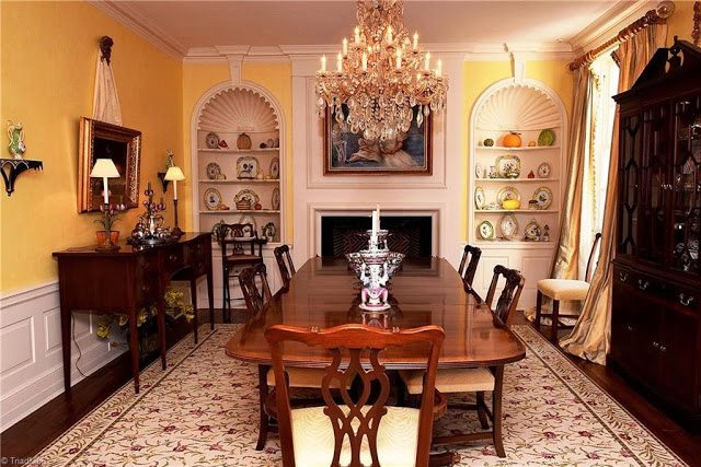 Fresh Note the black doors leading into the parlor They plement the entry doors and are all original Zenke