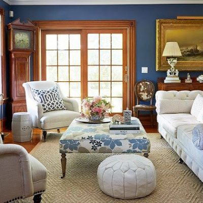 Blue and White in the Hamptons