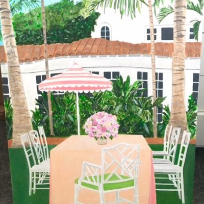 Palm Beach Inspired Art by Annechovie
