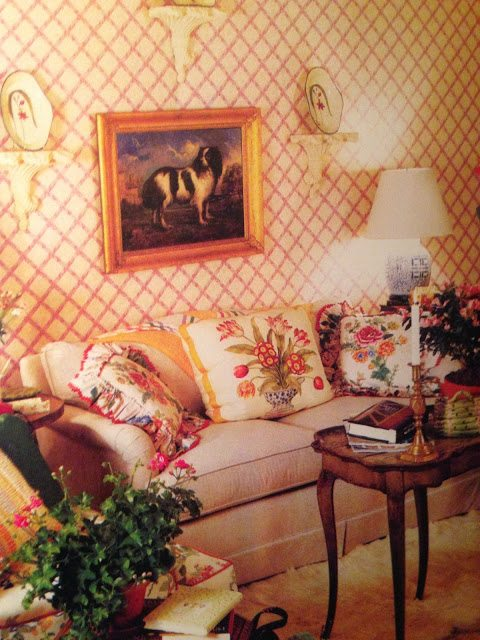 Dean Assisted Mario Buatta And His Then Assistant Michael Zabriskie With This Room At The Bloomingdales Flagship In Manhattan 1983