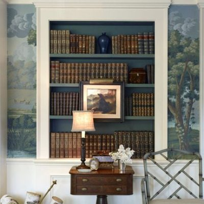 An Elegant Living Room by Larry Hooke