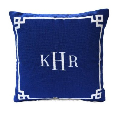 Custom Needlepoint Pillow