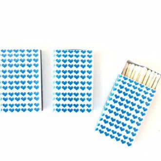 Heart Matchbooks