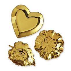 Gold Ceramic Catchalls
