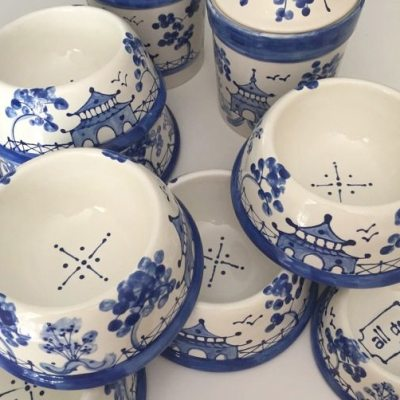 Chinoiserie Pet Bowls