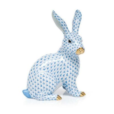 Herend Fishnet Bunny