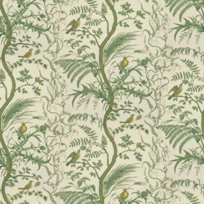 Bird and Thistle Wallpaper
