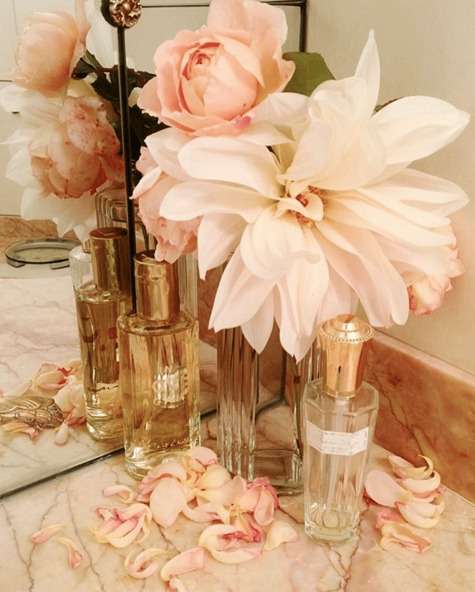 Aperge Perfume Flowers Pink Paris French The Glam Pad