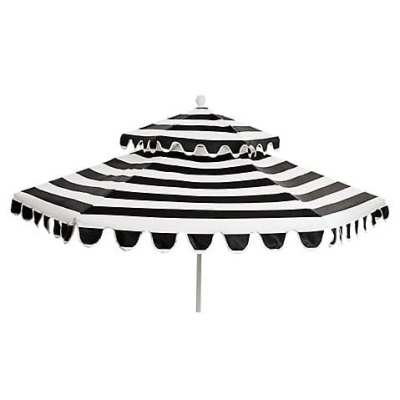 Scalloped Patio Umbrella