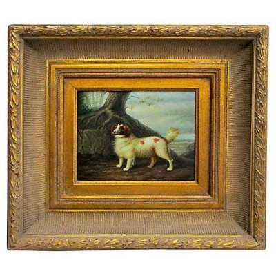 Vintage Dog Paintings