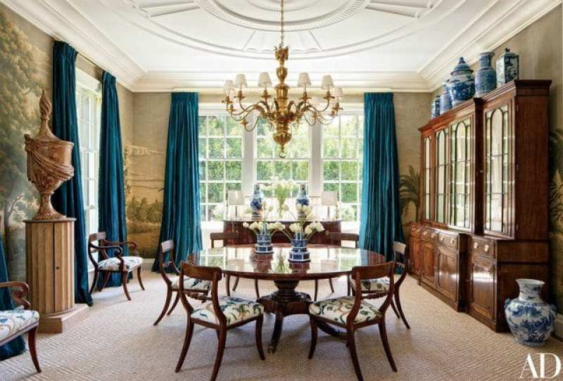 A Classic Colonial Revival By Miles Redd The Glam Pad