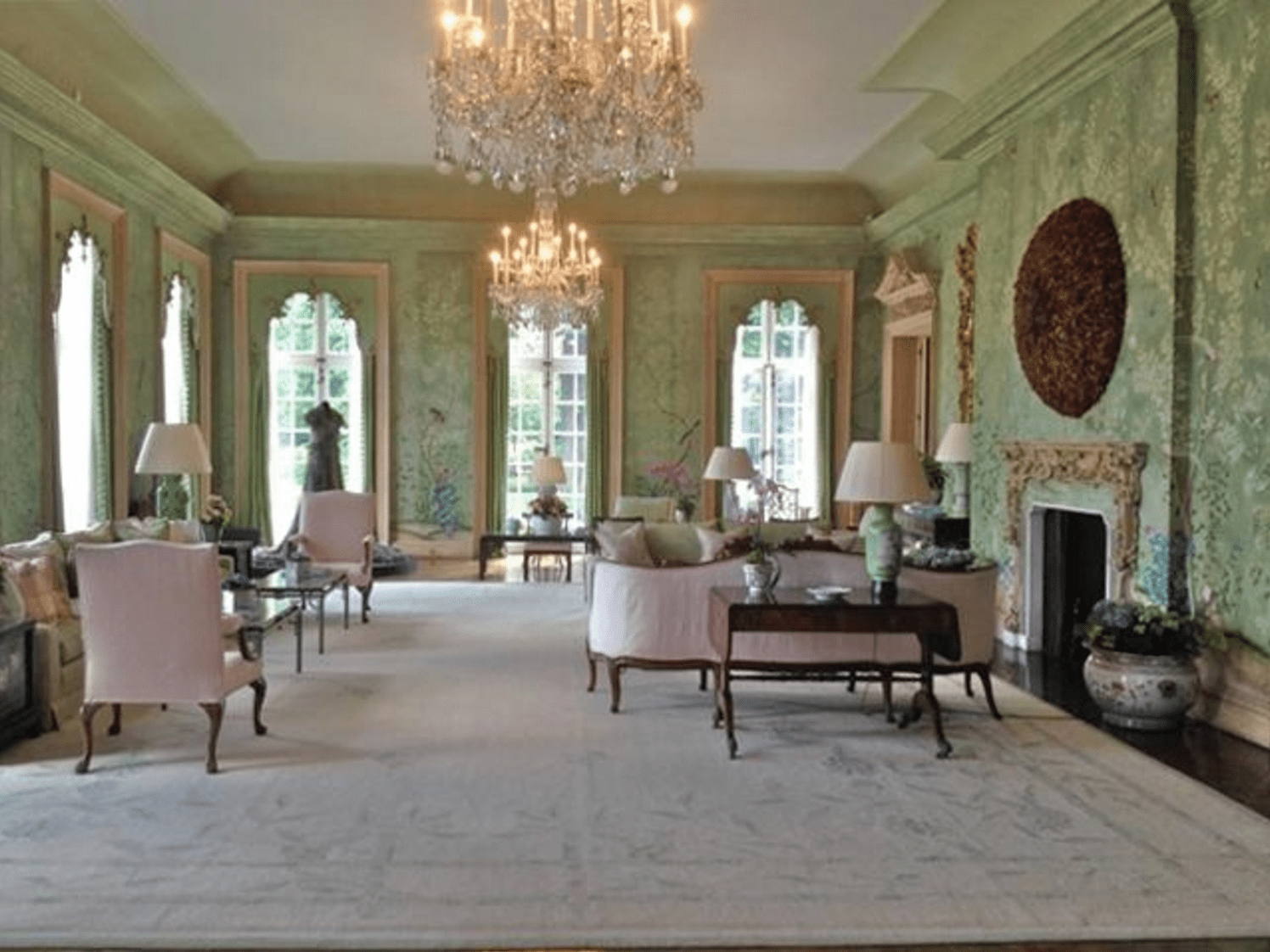 Gracie And The Garden Room At Winfield House The Glam Pad