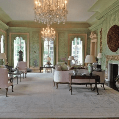 Gracie and The Garden Room at Winfield House