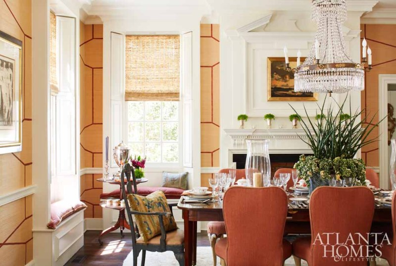 Designer Tammy Connor Had An English Country House In Mind When She Took On The Challenge Of Revamping Homes Original Dining Room