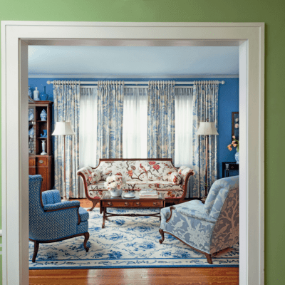 A Blue and White Dutch Colonial by Madcap Cottage