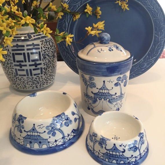 Artful Dog Bowl Blue