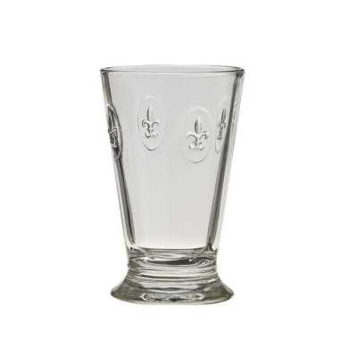 Fleur de Lys Drinking Glasses