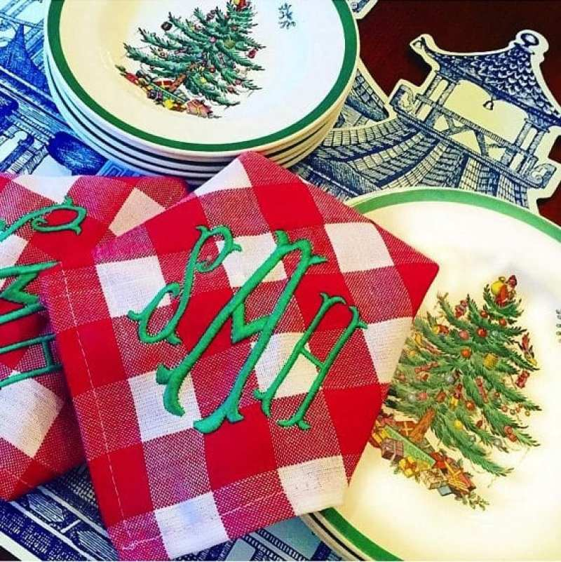 Spode Christmas Tree Placemats