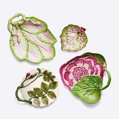 Tory Burch Leaf Plates