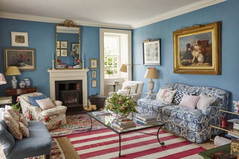 0dcbec67c14 Louise Townsend s Idyllic English Country Home - The Glam Pad