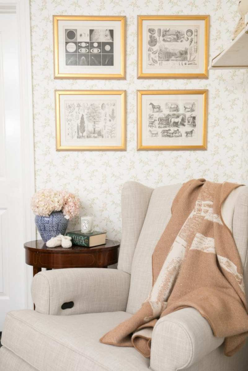 An English Country Inspired Nursery - The Glam Pad
